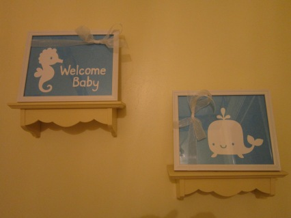 Welcome Baby Framed Art